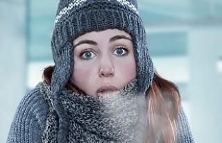 Soğuk havada yüz felcine uyarısı!