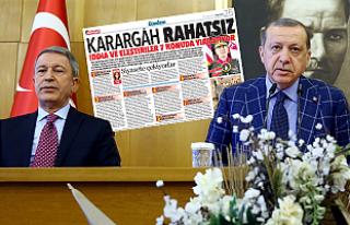 Erdoğan ve Genelkurmay'dan 'karargâh rahatsız'...