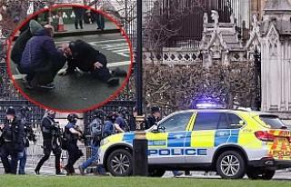 İngiltere Parlamentosu'nda saldırı