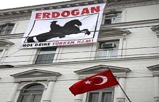 Türkiye'nin Viyana Büyükelçiliği'nde...