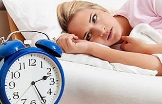 Uyku bozukluğu yaşayanlar bu habere dikkat!