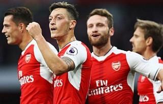Arsenal'den net galibiyet