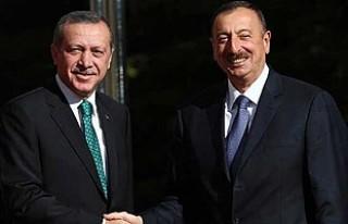 Erdoğan'a ilk kutlama Aliyev'den