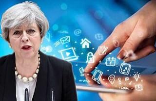 Theresa May, internete 'terör' sansürü...