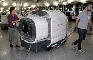 Atatürk Havalimanı'na 2 tomografi cihazı getirildi!