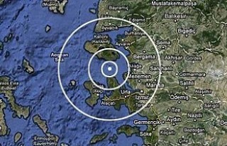 Ege'de yine büyük deprem!