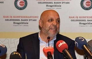HAK-İŞ Demokrasi Nöbeti Başlatıyor