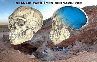 İlk insan fosili Fas'ta bulundu