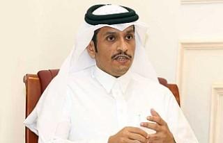 Katar Dışişleri Bakanı Al Sani Londra'da