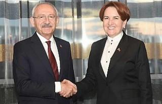 Kılıçdaroğlu, Meral Akşener'le iftar yemeğinde...