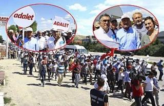 Kılıçdaroğlu'nun 'Adalet' Yürüyüşü...