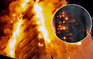 Londra'daki büyük yangında ölü sayısı...