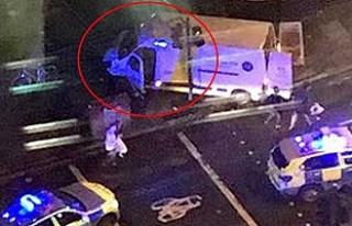Londra'daki saldırıdan ilk görüntüler