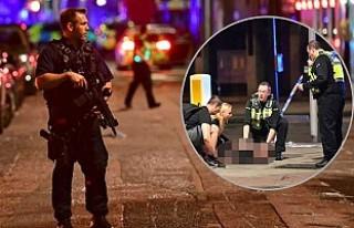 Londra kent merkezinde saldırı!