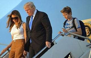 Melania Trump Beyaz Saray'a taşındı