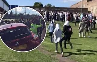 Polisten, Müslümanlara çarpan araç açıklaması