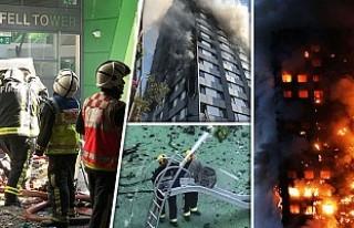 Londra yangınında bilanço ağırlaşıyor: Ölü...