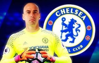 Chelsea'nin kalesine Caballero takviyesi