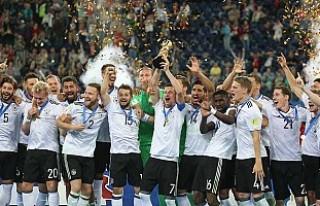 FIFA Konfederasyonlar Kupası'nda Şampiyon Almanya...