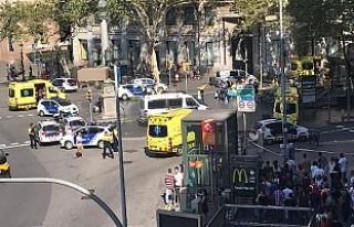 Barcelona'daki saldırıda yaralananlardan biri...