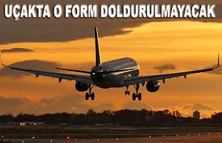 İngiltere'ye uçakla yolculuk yapanlar için...