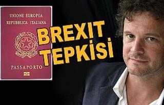 Oscarlı İngiliz aktör Firth, o ülkenin pasaportunu...