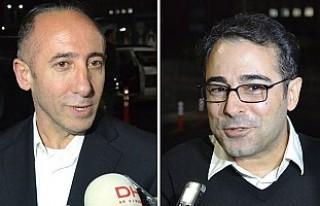 Atilla Taş ve Murat Aksoy tahliye oldu