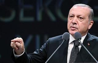 Erdoğan'dan Las Vegas saldırısı için taziye