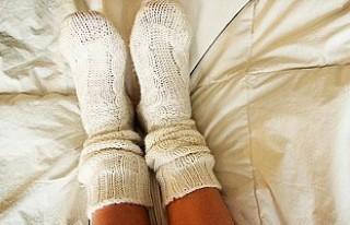 Gece çorabınız olsun