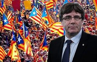 """Katalonya'da """"tek taraflı bağımsızlık""""..."""