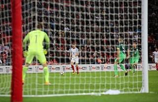 Son dakika golü ile İngiltere Turu Garantiledi