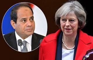 Başbakan'dan, Mısır lideri Sisi'ye taziye...