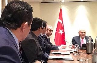 Başbakan Yıldırım, UETD UK Yöneticilerini Kabul...