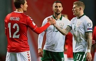 Danimarka 5 golle Dünya Kupası'na uçtu