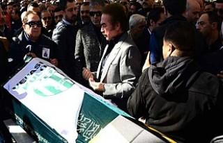 Hakan Altun'un babasının cenazesinde büyük...