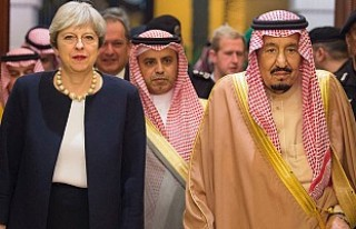 İngiltere Başbakanı May Suudi Arabistan'da