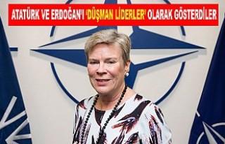 """NATO tatbikatındaki """"Atatürk ve Erdoğan düşmanlığı""""..."""
