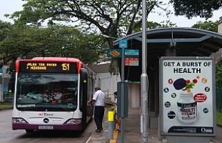 Singapur'da sürücüsüz otobüsler 2022'de...