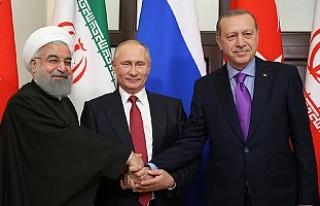 Soçi'deki Üçlü Zirvede 'Suriye'nin...