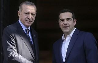Erdoğan Yunan Mevkidaşı ve Çipras'la bir...