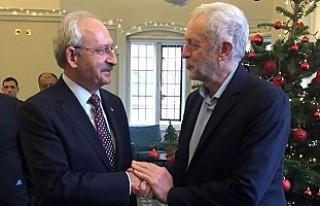 Kılıçdaroğlu, Corbyn'le 'Kıbrıs'ı...