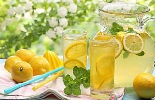 'Açık limonata içmeyin' uyarısı