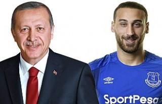 Cumhurbaşkanı Erdoğan'dan, Cenk Tosun'a...