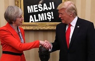 Trump, İngiltere'ye gelmeyeceğini twitterden...