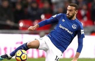 Evertonlı taraftarlar Cenk Tosun'u istiyor