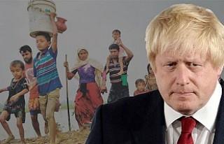 İngiltere Dışişleri Bakanı Johnson Arakan'a...