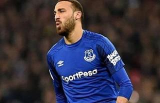 Cenk Tosun, Everton'da ilk golünü attı