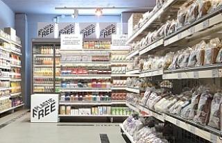 Dünyanın ilk plastiksiz marketi açıldı
