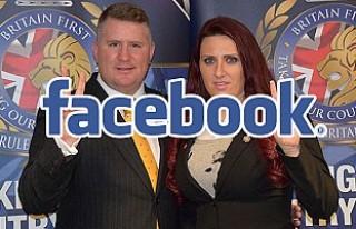 Facebook, İngiliz aşırı sağcı grubun hesaplarını...