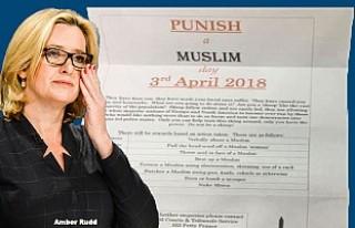 """İngiltere'de evlere """"Bir Müslüman'ı..."""